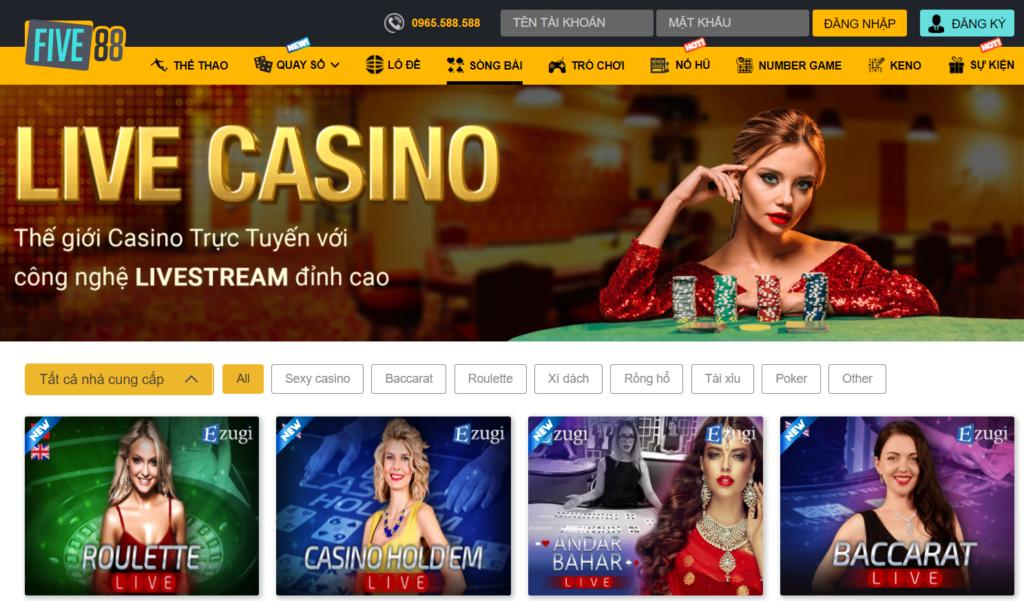Casino tại Five88