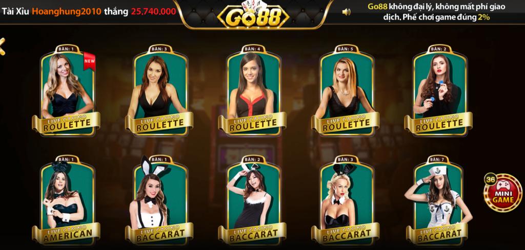 Casino Online tại GO88