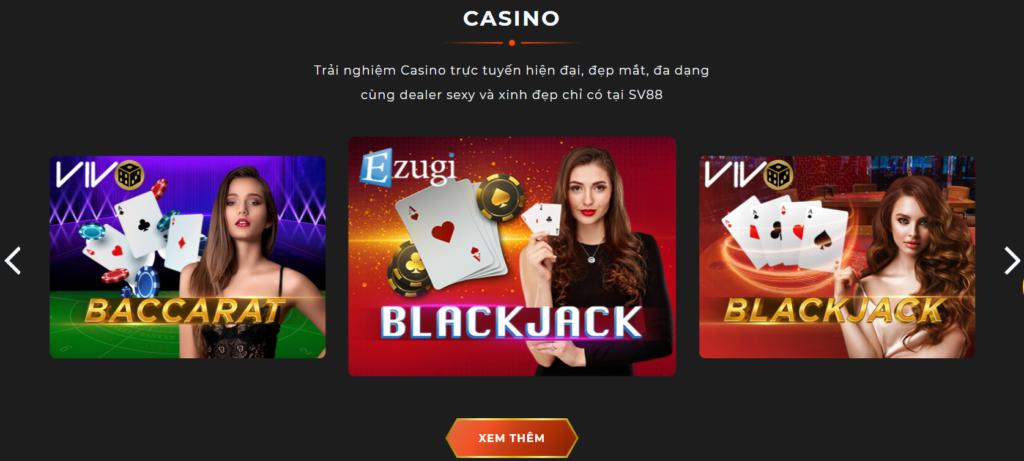Casino tại SV88