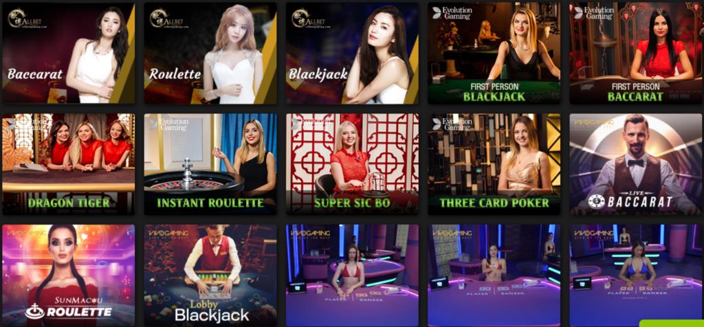 Casino tại ZBET