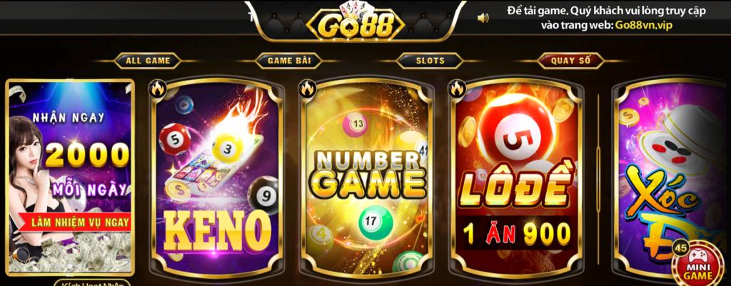 Quay số tại GO88