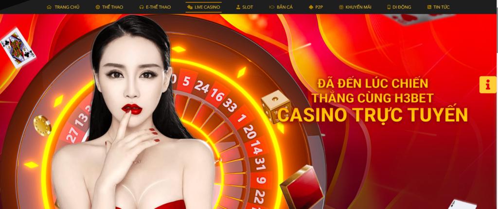 Casino tại H3BET