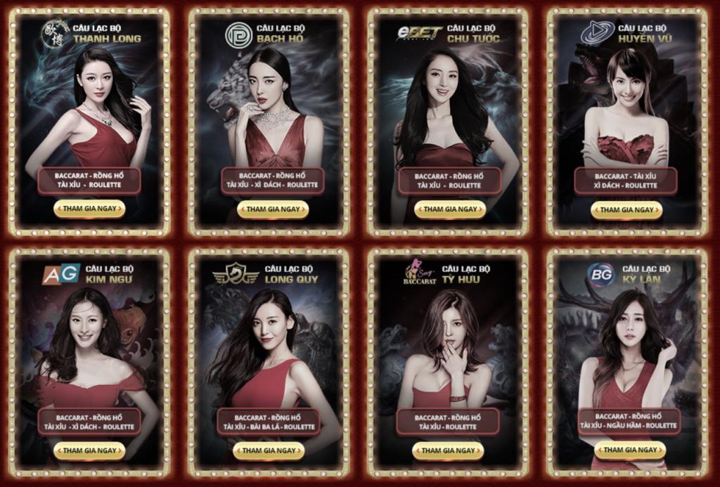 Casino tại Rồng Hổ