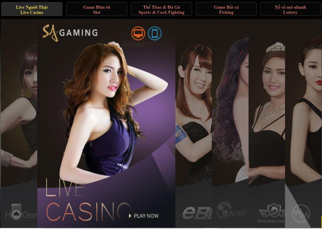 Casino tại Star Wolf