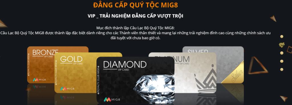 Đẳng cấp quý tộc MIG8