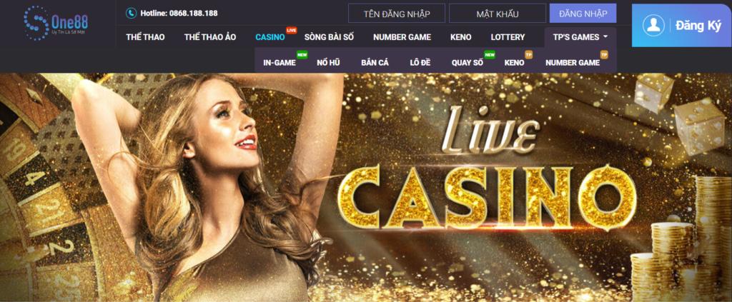 Live Casino tại ONE88