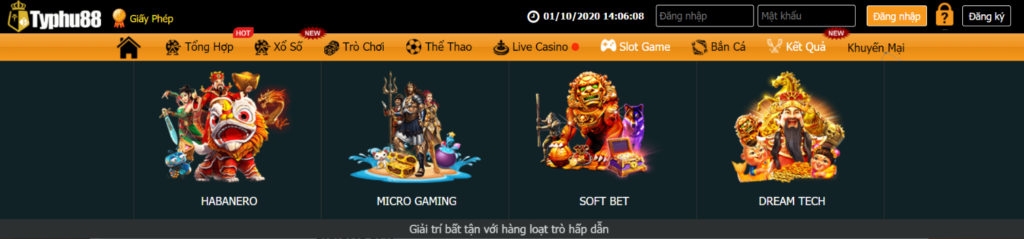 Slot game tại TYPHU88
