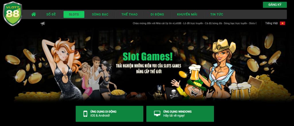Slot game tại VLOTT88