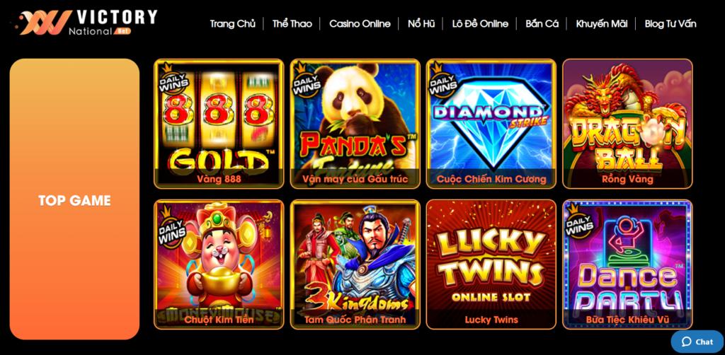 Slot game tại VNBET77