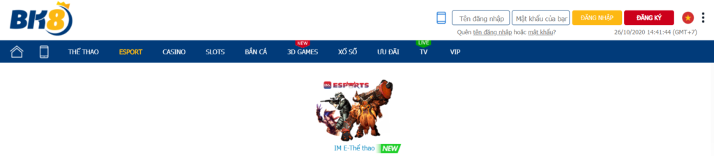 ESports tại BK8
