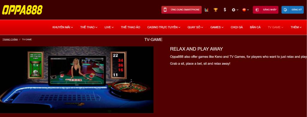 TV-GAME tại OPPA888
