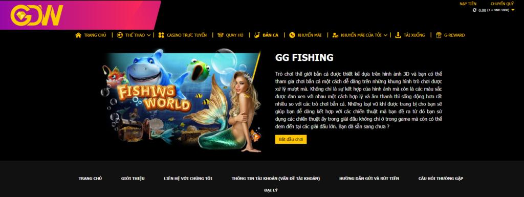 Bắn cá tại GDWBET