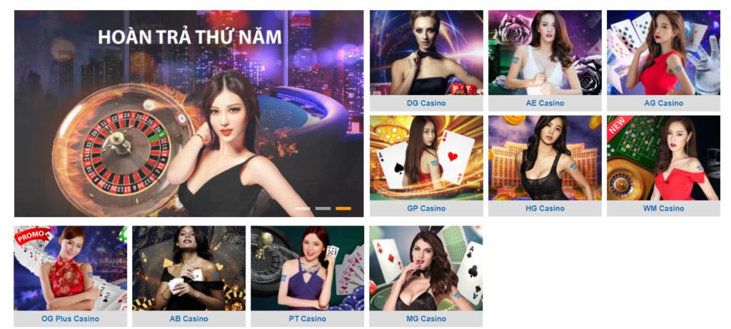 Casino tại CMD368