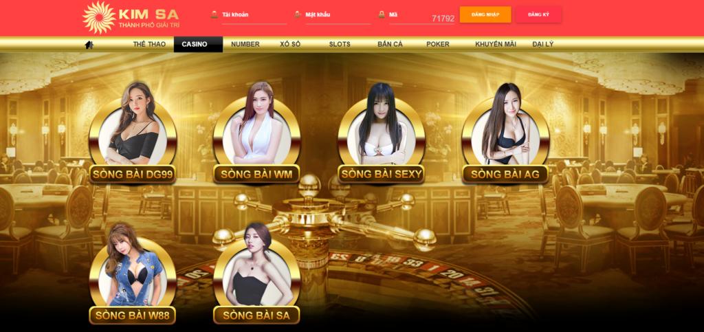 Casino tại Kim Sa