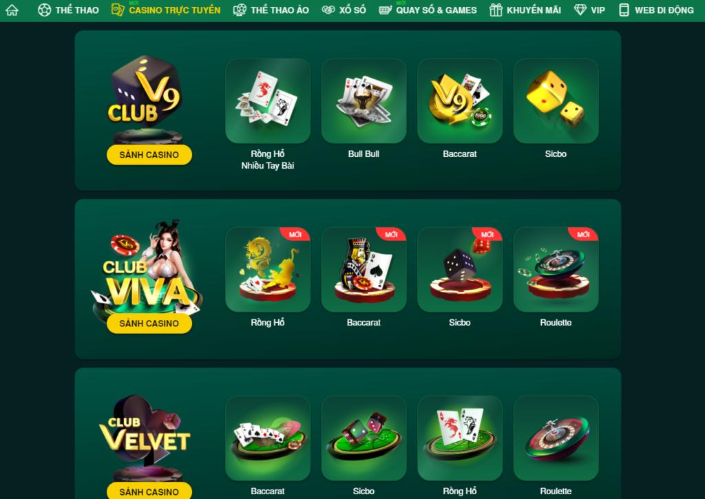 Casino tại V9BET