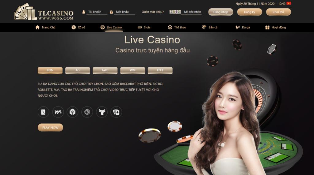 Live Casino tại TLCASINO