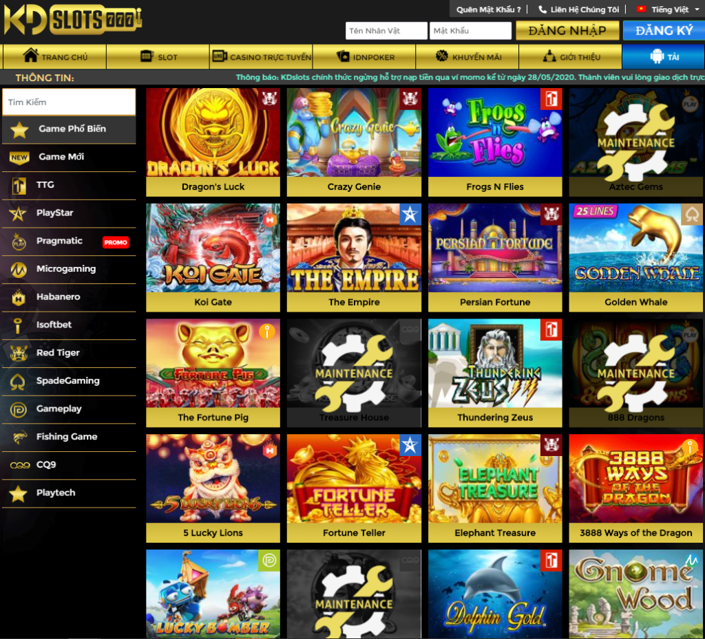 Slot game tại KDslots