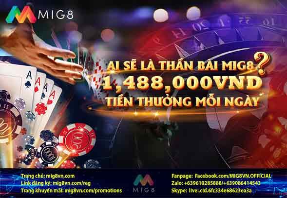 Thần bài tại MIG8