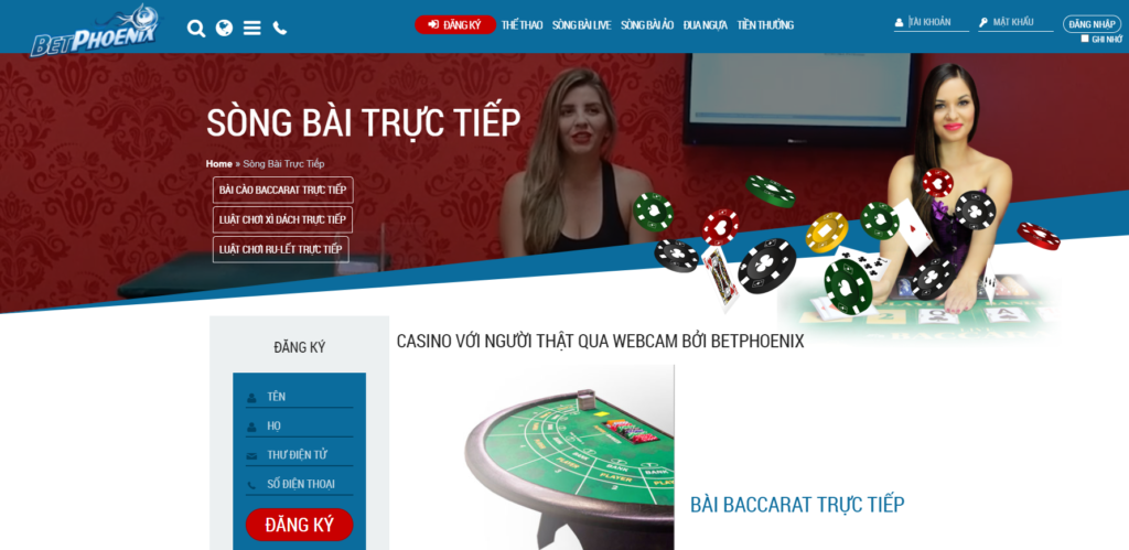 Casino tại BetPhoenix