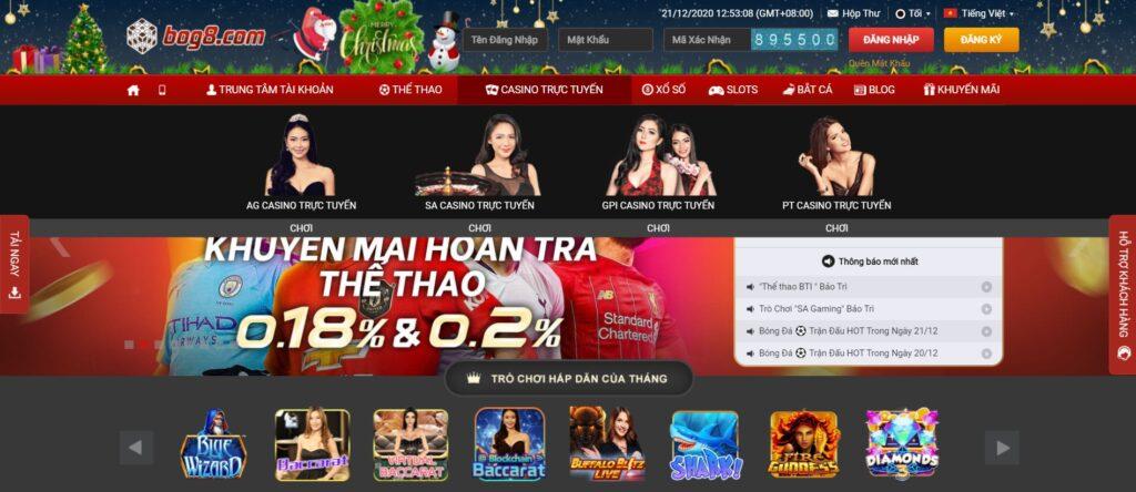Casino tại BOG8