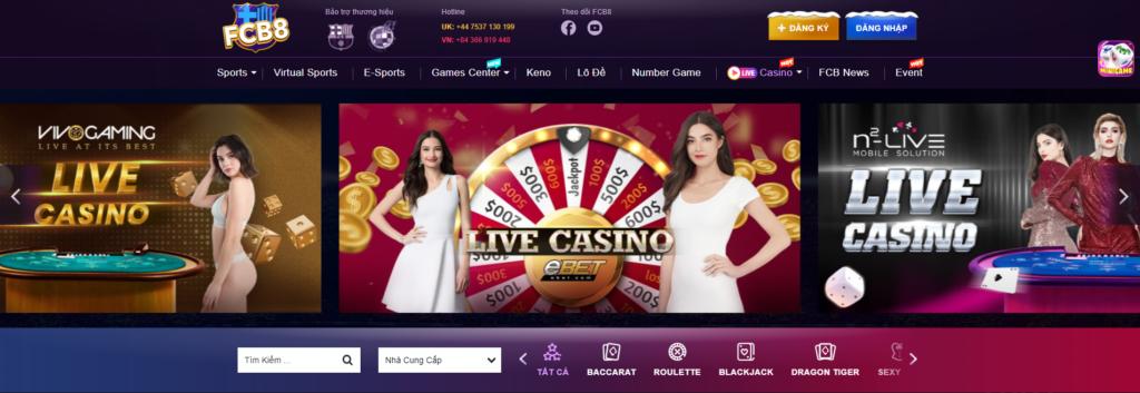 Casino tại FCB8