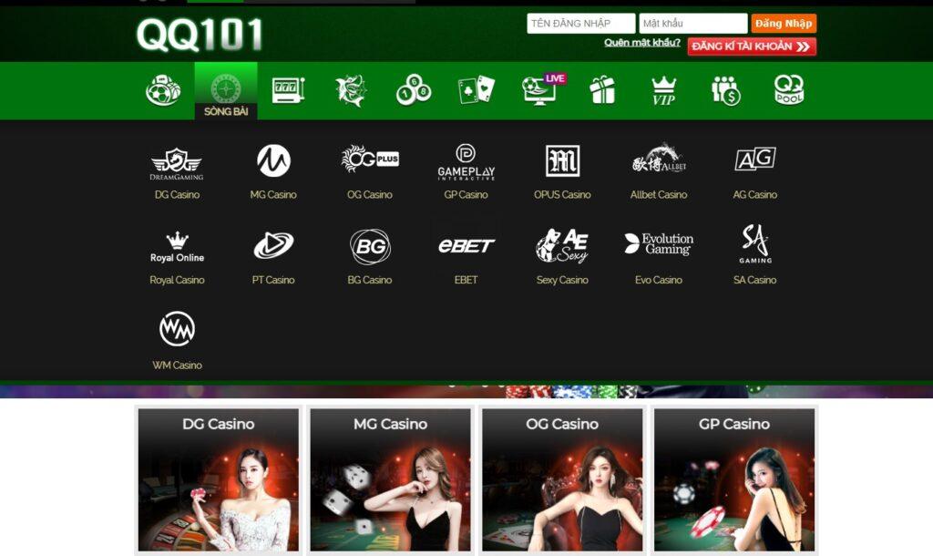 Casino tại QQ101