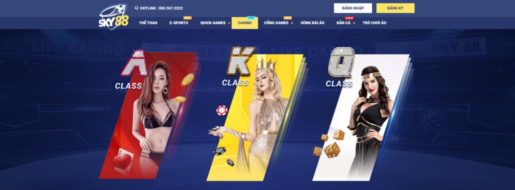Casino tại Sky88