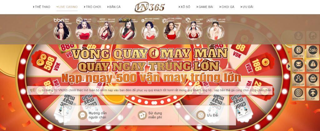 Live Casino tại VN365