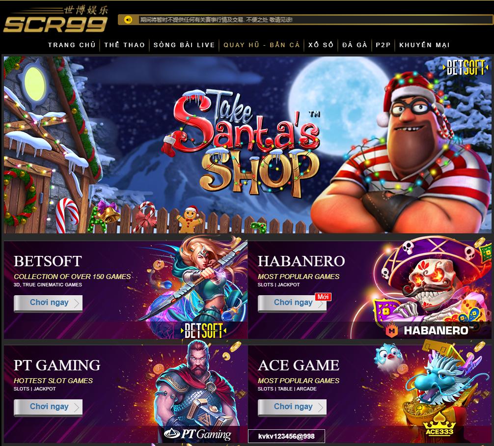 Slot game tại SCR99VN