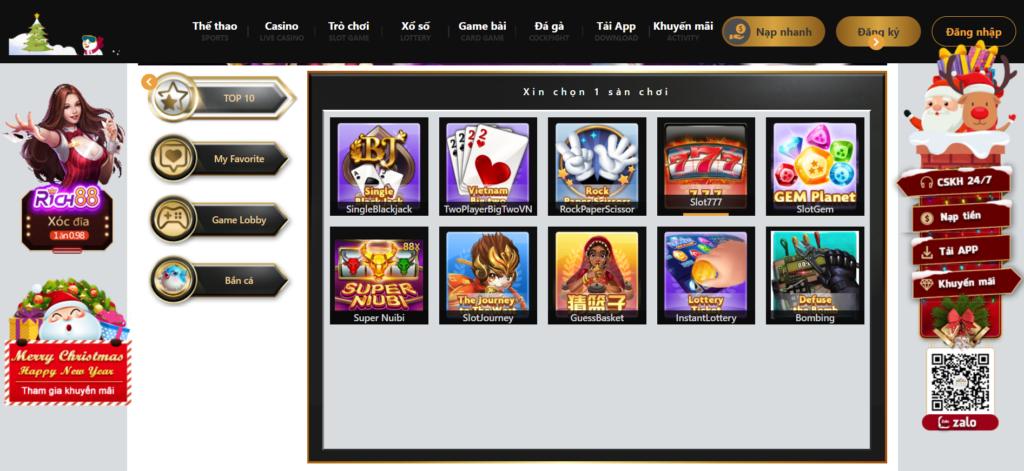 Slot game tại Dubai Palace