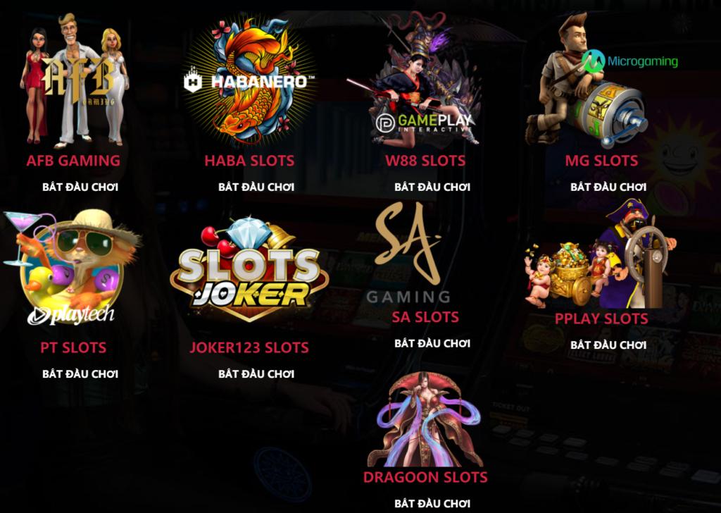 Slot game tại THANBAI88
