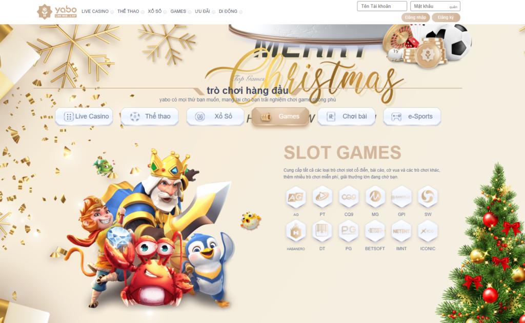 Slot game tại YABO