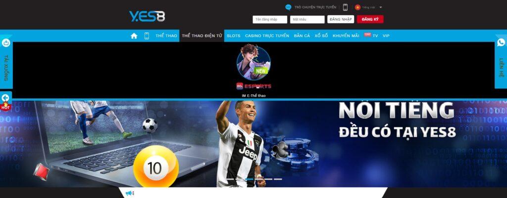 Thể thao điện tử tại Yes8