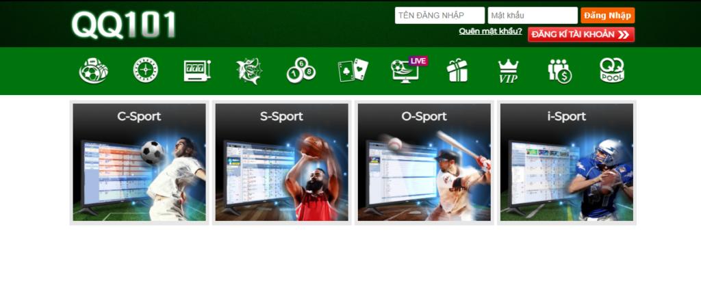 Thể thao tại QQ101