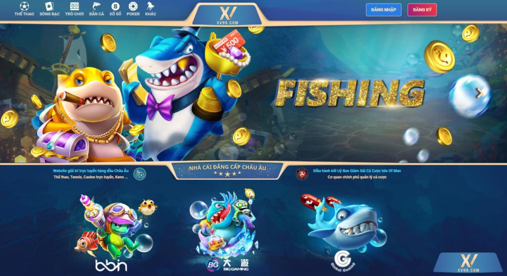 Bắn cá tại XV99