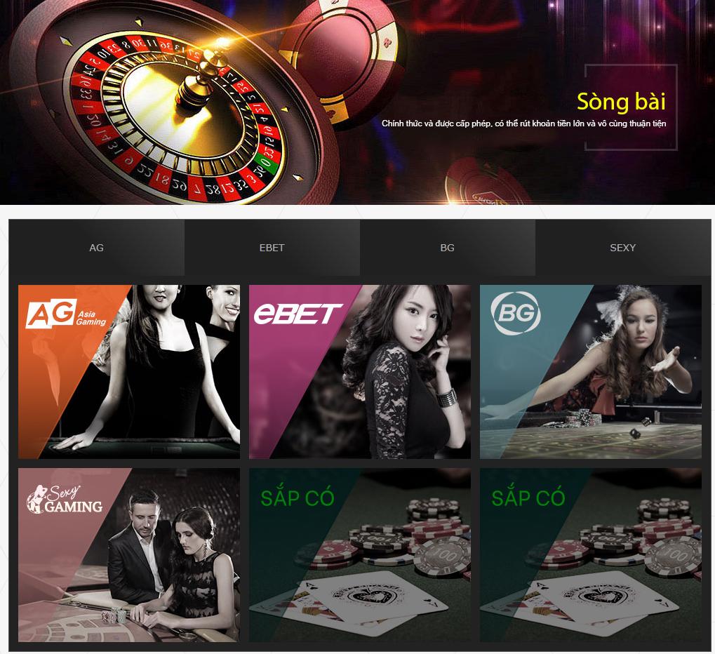 Casino tại Vnam Sports