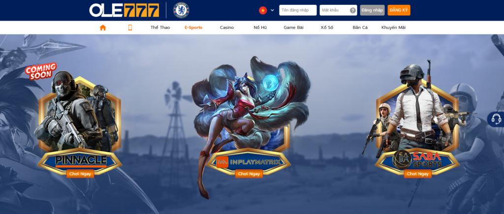 E-Sports tại OLE777
