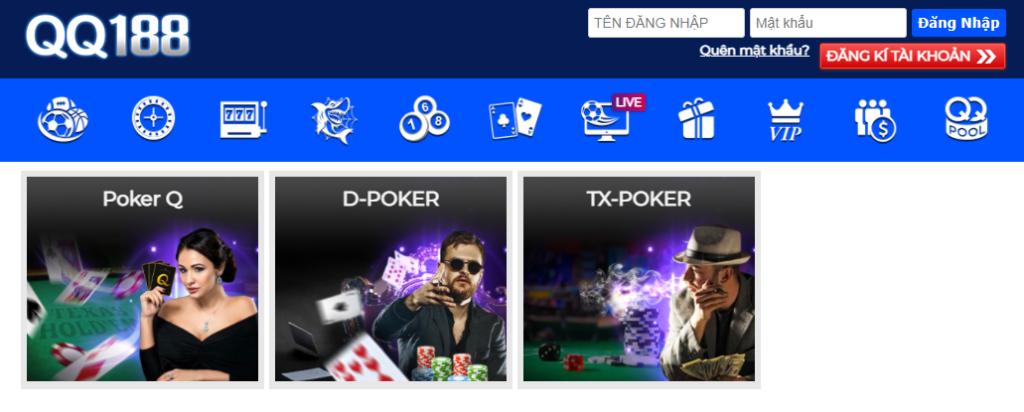 Poker tại QQ188