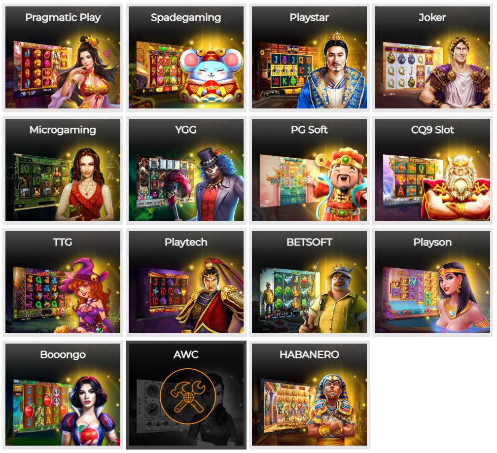 Slot game tại QQ188