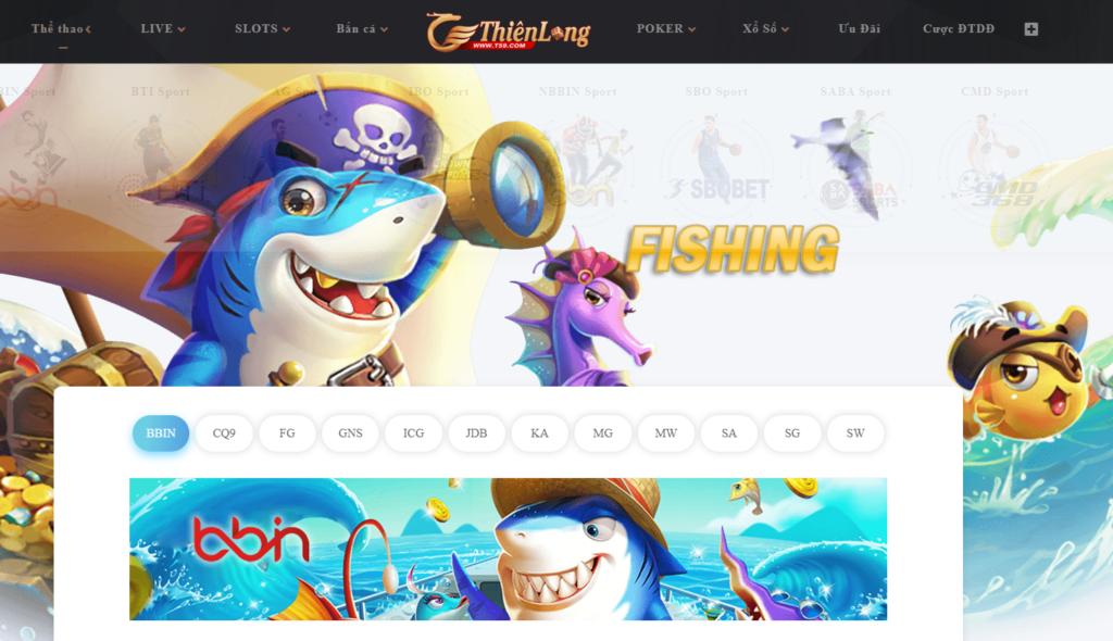 Bắn cá tại Thiên Long