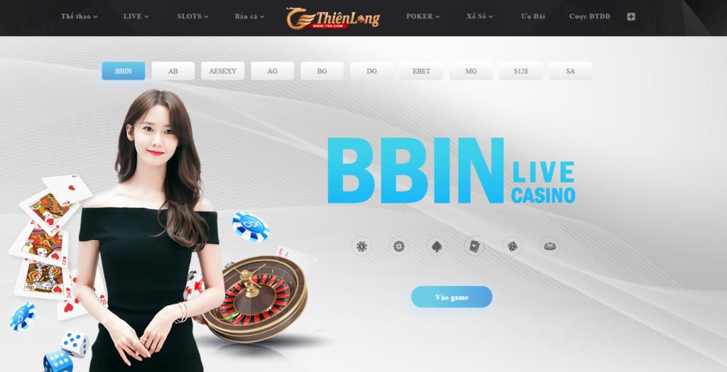 Live Casino tại Thiên Long