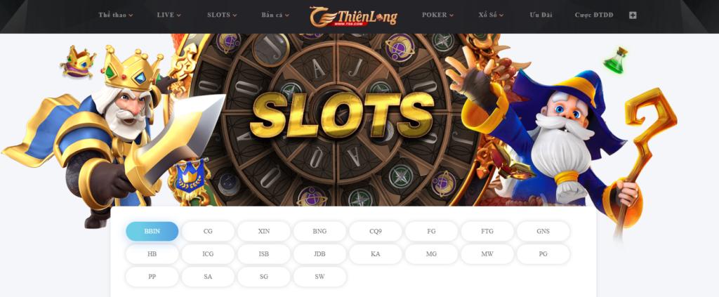 Slot game tại Thiên Long