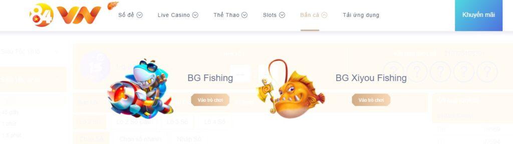 Bắn cá tại 84VN
