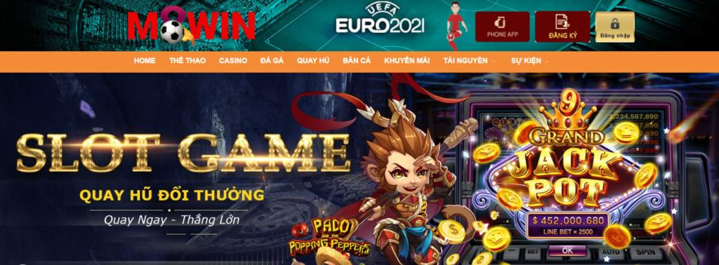 Slot games tại M8win